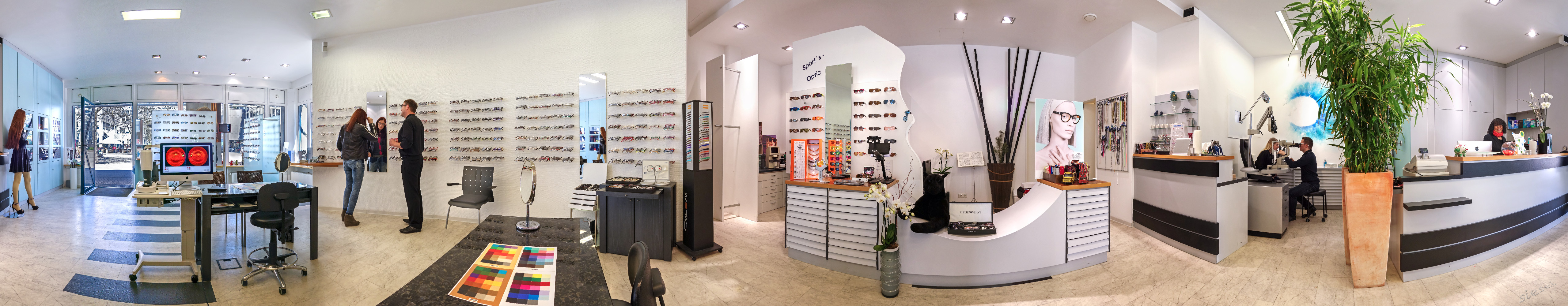 Inside arabella optic g
